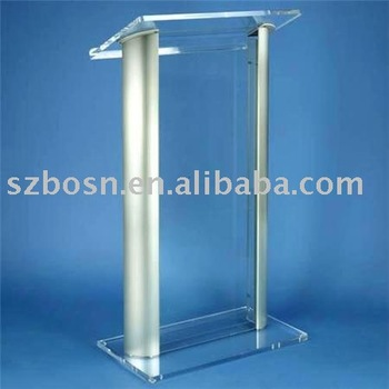 Acrylic Lectern, Perspex Church Pulpit, Plexiglass Podium