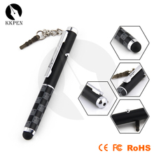 Jiangxin push function newest crayon hot sale 4in 1 stylus pen for man