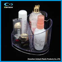 factory wholesale customized clear acrylic makeup organizer