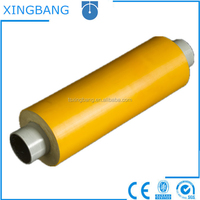 CE certification pu foam isolation chilled water pipes for air conditioner cooling system