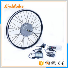 Aluminum Alloy 26 inch electric front wheel bike conversion kit for sale