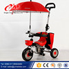 Yimei manufacturer company used Children tricycle price for kids/New model push baby tricycle/trike for baby with umbrella