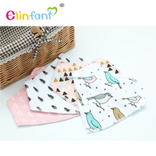 Elinfant Kids Toddler Triangle Scarf Bib Cool Accessories Infant Saliva Towel Baby Burp Bandana Bibs
