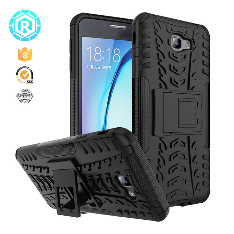 TPU Hybrid light plastic bumper mobile phone cover case for Samsung J7 prime