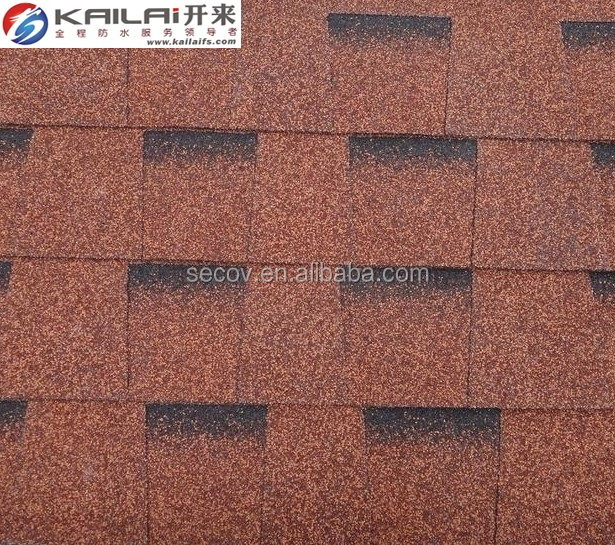 KLAI-201 Double layer Fiberglass Laminated Asphalt Shingles