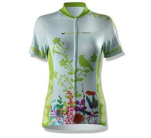 2012 Custom Cycling Jersey for Women Wholesale