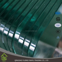 Wholesale Chinese 6mm tempered glass for railing, balcony and fence