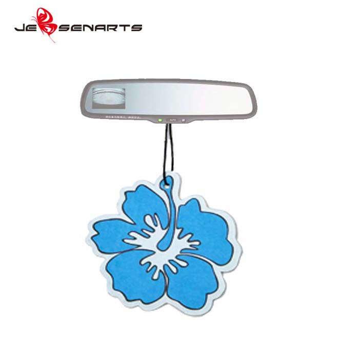 2017 designer fragrance bulk fresheners with own logo Paper Auto Custom Car Scent Air Freshener