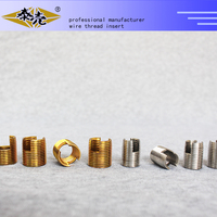 High precision fasteners self tapping threaded inserts for aluminum