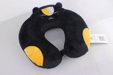 Portable new design travel cheap memory foam neck pillow