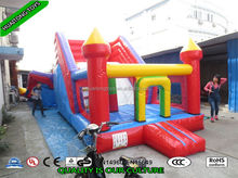 best popular amazing Inflatable slide jumping castle bouncy house funcity amuesment park for baby playing