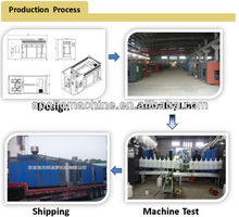 plastic pipe extrusion machine/all specifications bottles blow molding machine best seller