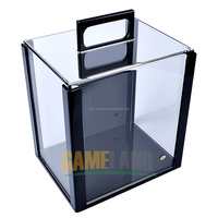 1000 Pc Poker Chip Set Acrylic Display Case