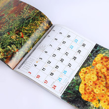 Professional Wholesale Custom Printing Saddle Stitch Advent Weekly Monthly Wall Calendar