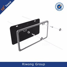 US Stainless Steel Chrome Custom License Plate Frame Wholesale