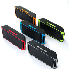 SC208 Wireless Speaker Bluetooth 4.0 Stereo Subwoofer Speakers TF USB FM Radio Built-in Mic Dual Bass Sound Box