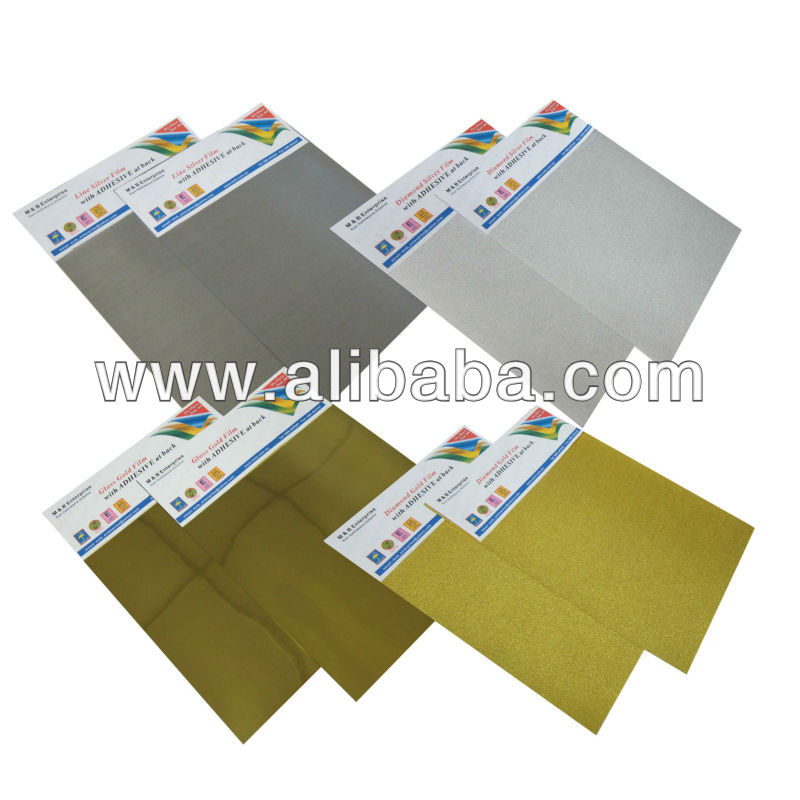 Inkjet Film (Gold and Silver)
