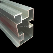 6063 t5 extruded aluminum section with any shapes