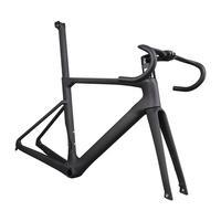 2019 ICAN HOT All Internal Cable Carbon Disc Brake Flat Mount Road Bike Frame A9