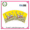 Disposable Printed Paper Popcorn Cups Raw Material