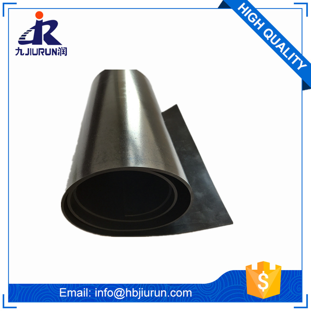 China Manufactory Customized Tearproof Sbr rubber sheet