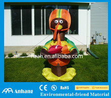 Thanksgiving Decorative Inflatable Turkey with Football Front