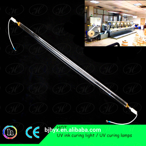 4kw 350mm uv mercury lamp for UV curing adhesive stickers