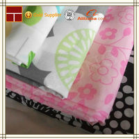 TC 45*45 110*76 150cm print polyester cotton coat lining fabric