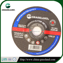105x6x16 Resin Bond Abrasive Grinding Disc/Wheel 4 inch Specification EN12413