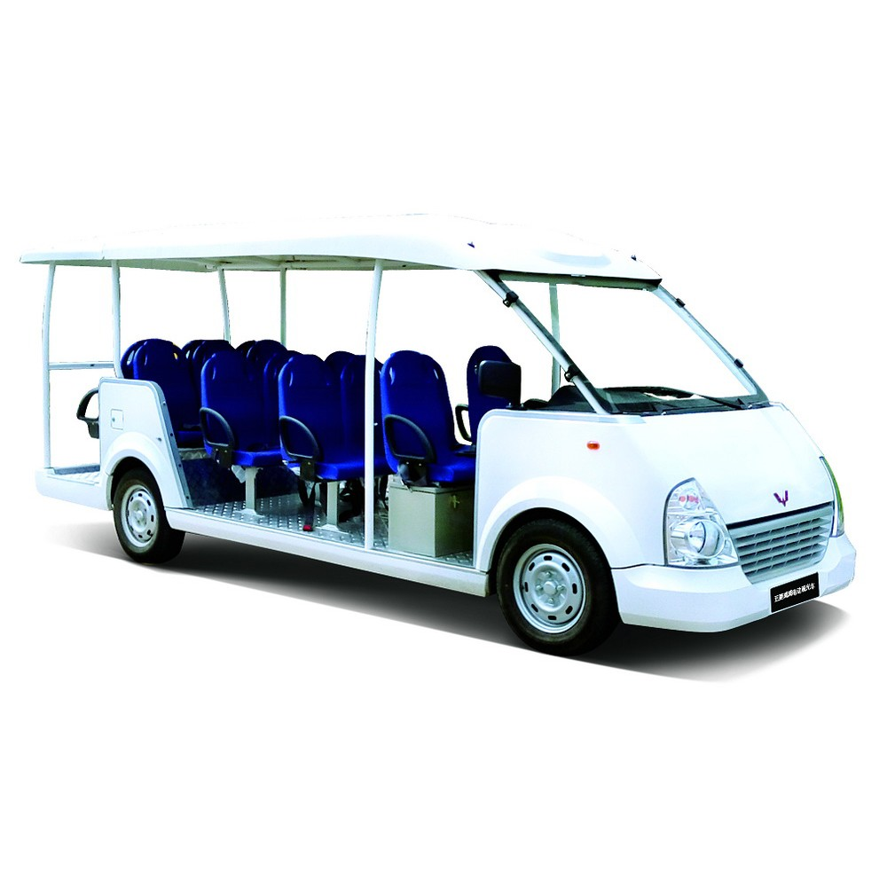 cheap fashion customizable China Made 14 seater electric car