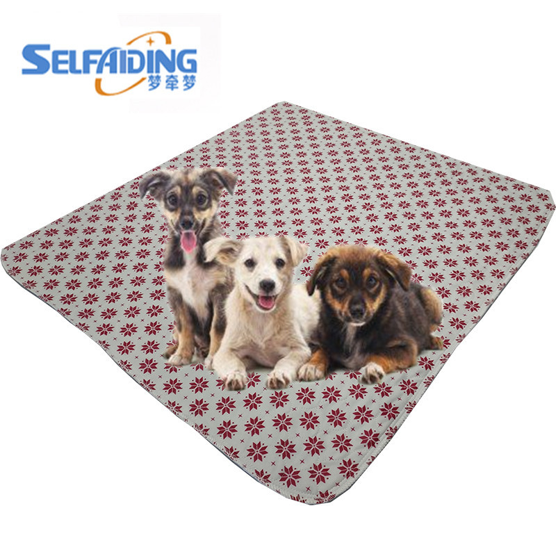 Waterproof Dog Pee Pads Washable Pet Puppy Training Pads Reusable Dog Mats
