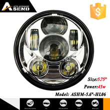 New best price! High power LED 45W 5 3/4inch motorcycle driving light for sale now