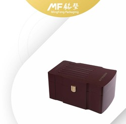 Red Brown NC flat lacquer paint wine box