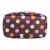 BSCI Printing Satin Cosmetic Bag Case with Handle