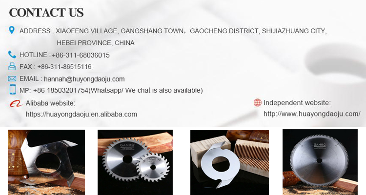 finger joint cutter for comb tenoning machine