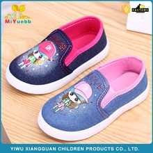 New arrival canvas kids outdoor sport shoes for girls