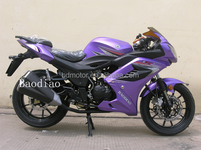Baodiao Super Cool New Popular Racing Sport Motorcycle 150cc For Sale Four Stroke Engine Motorcycles Wholesale EEC EPA DOT
