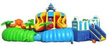 HOT!High quality water park with water pool slides for sale for children and adult