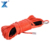 "J-MAX 1/2"" orange color braid synthetic winch tow rope with thimble hook protect jacket by rope factory"