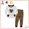 2016 hot sale 100% cotton pajamas lovely girl clothing