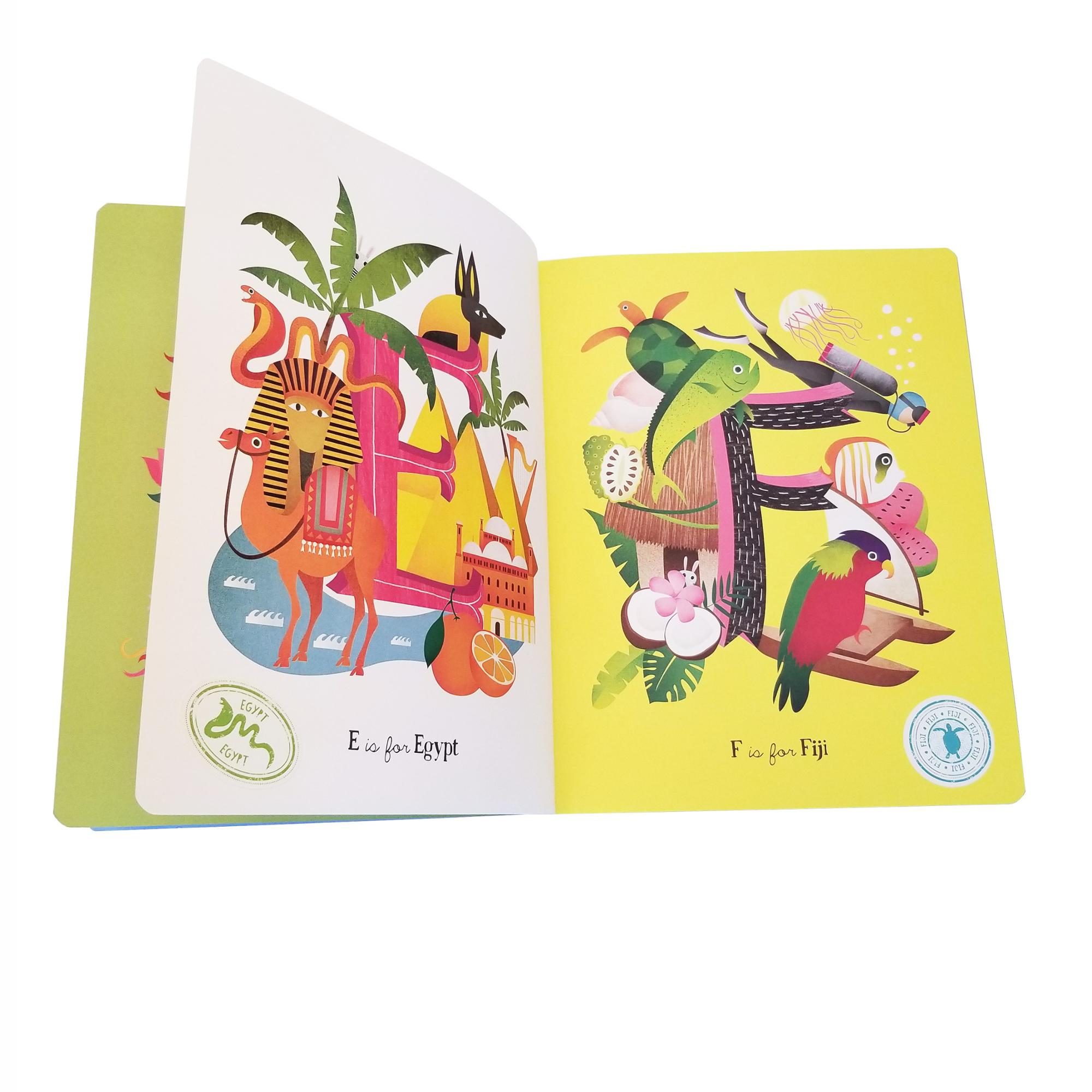 pop-ups children card book printing,children boardbook printing,Professional color painting hardcover books for kids