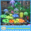 2013 hot fish tank/aquariium silicone artificial jellyfish decorations