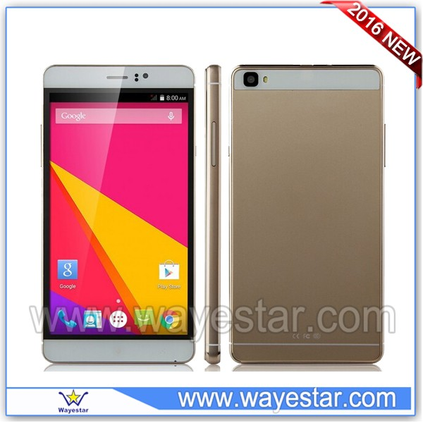 M8 6 inch MTK6580 Quad Core 3G Android 5.1 Smart Phone Cheapest Price