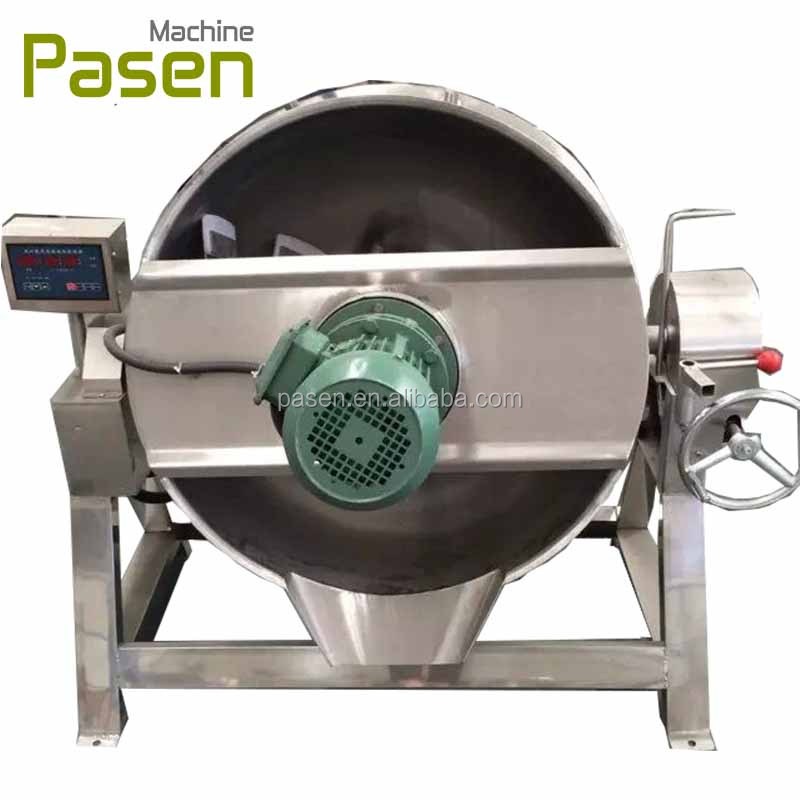 Steam Jacketed Kettle | Tilting Steam Jacketed Kettle / Cooking Pots For Sale