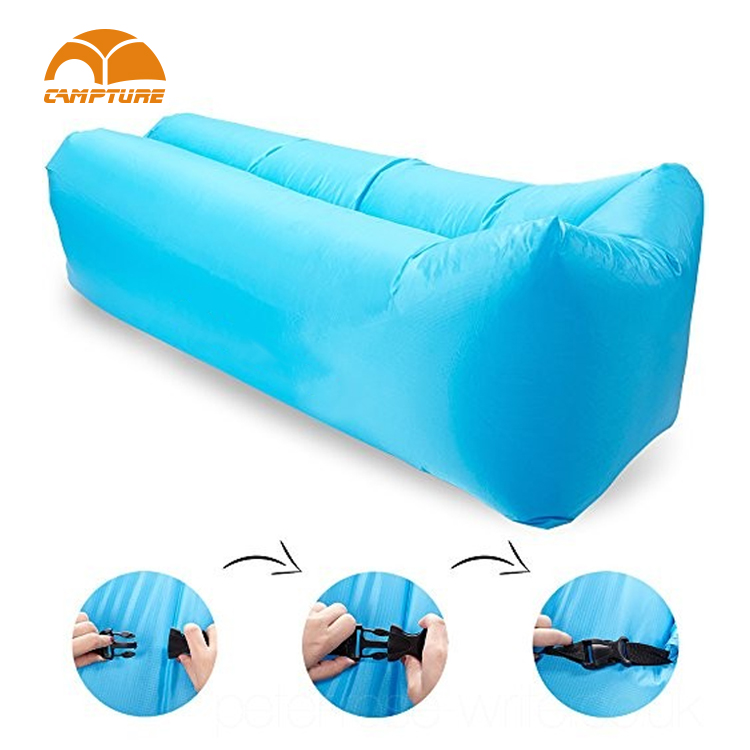 air sofa single mouth air filled lazy sleep bed sofa inflateble soft air lounge sofa bed