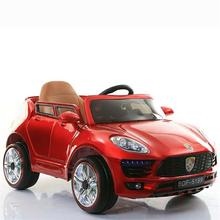 Plastic frame baby new toy children kids 4 wheel 2 motor electric car
