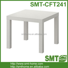 Simple white coffee table 60x60 ikea