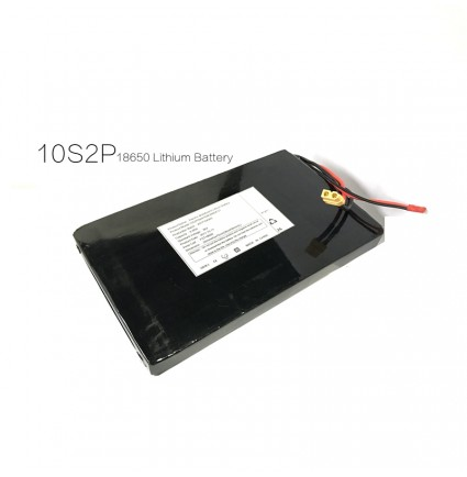 Wholesale Electric skateboard 18650 lithium ion battery pack 36V 10S2P 10S3P 7S2P with BMS for DIY