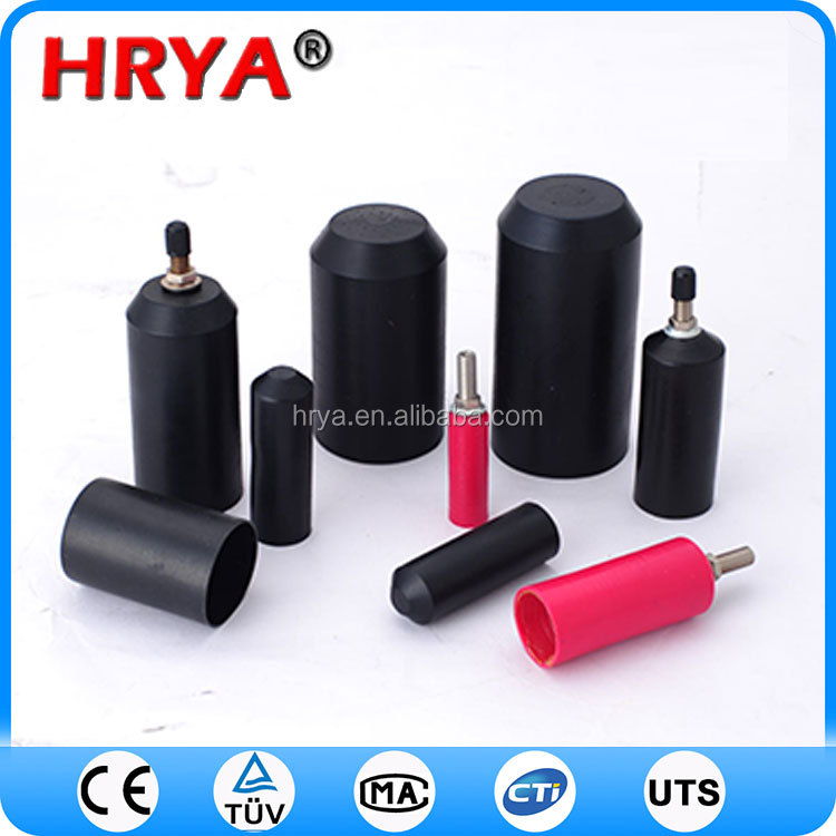 polyolefin heat shrink end caps weather uv proof heat shrink end cap