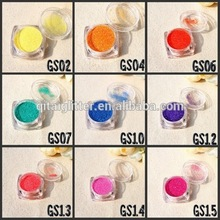 high quality pearlescent glitter powder hexagon shape at cosmetic grade for nail decoration